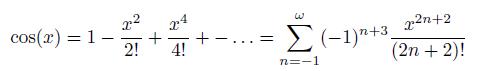 Cosinus Approximation