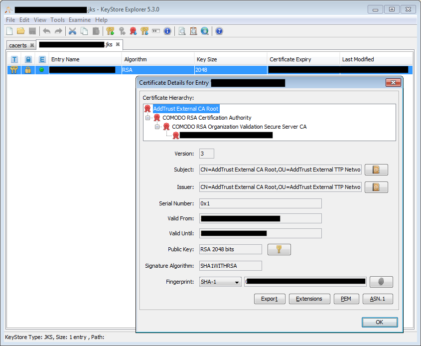 Java Keystore Scribblings Devblogid10t